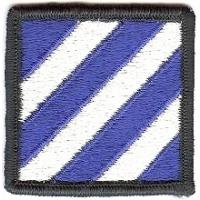 3 Infantry Division Patch. US Army