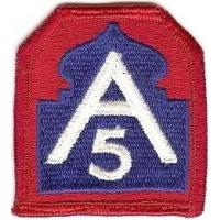 US Army North (former 5 Army) Patch. US Army