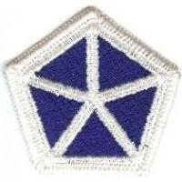 5 Corps Patch. US Army