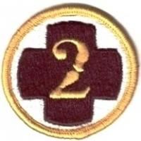 2 Medical Brigade Patch. US Army