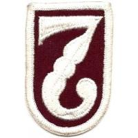 7 Medical Brigade Patch. US Army