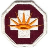 8 Medical Brigade Patch. US Army