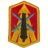 214th Fires Brigade Patch. US Army