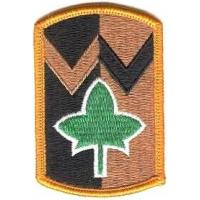 4th Sustainment Brigade Patch. US Army