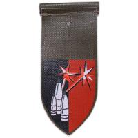 "Artillery Company Connection ""Pillar of Fire"" Shoulder Tag IDF"