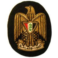Embroidered Beret Badge Iraqi Navy