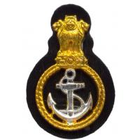 Beret Sergeant Cockade on the Indian Navy