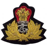Beret Officers Cockade of the Indian Navy