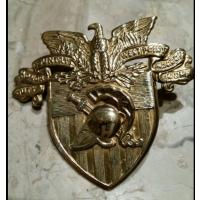 West Point Military Academy cadet hat badge