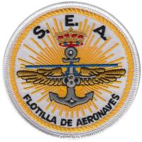 S.E.A Aircraft of Spanish Navy Patch