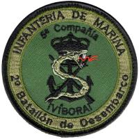 Corps 2nd Landing BATTALLION 5tn company of Marine Infantry. Spain
