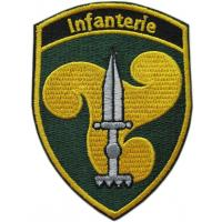 Infantry Patch of Swiss Army
