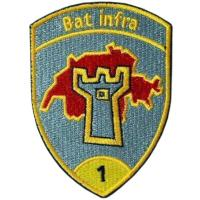 Sleeve insignia of the 1st Infantry Battalion of the Army of Switzerland