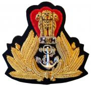 Indian Navy Headgears Badges