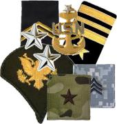 Army Rank Insignia, Shoulder Straps